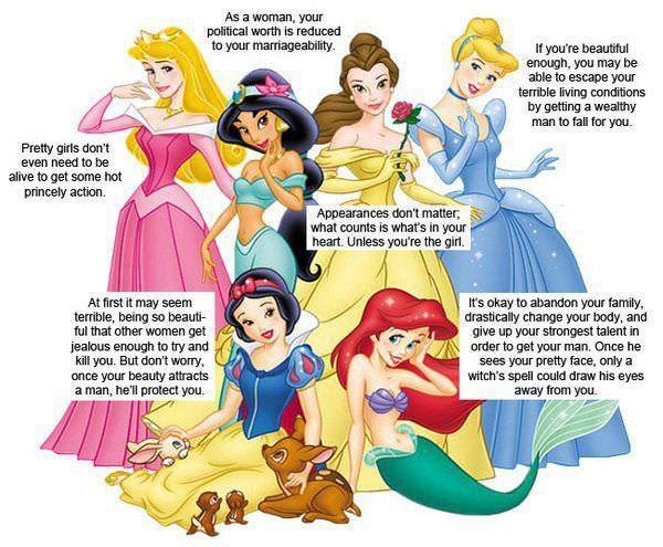 Disney disempowers women